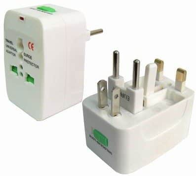 Universal plug adapter and Power Supply