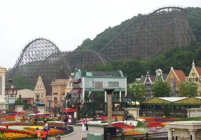 Everland Resort - Yongin, South Korea