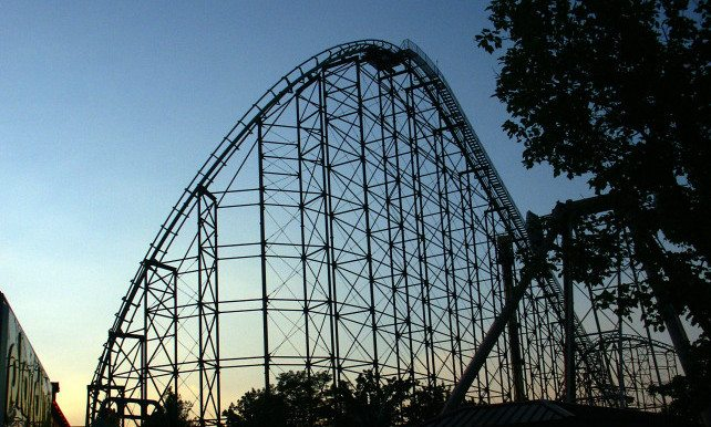 Phantom's Revenge, Kennywood, USA (137km/h)