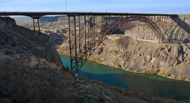 Perrine Bridge, United States of America