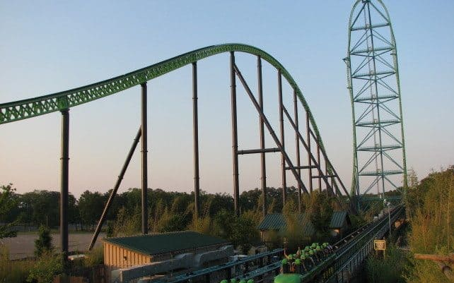 Kingda Ka, Six Flags Great Adventure, United States of America (206km/h)