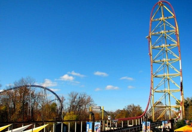Top Thrill Dragster, Cedar Point, United States of America (190km/h)