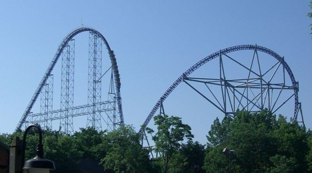 Millennium Force, Cedar Point, USA (150km/h)