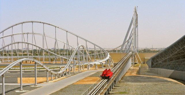 Formula Rossa, Ferrari World, United Arab Emirates (240 km/h)