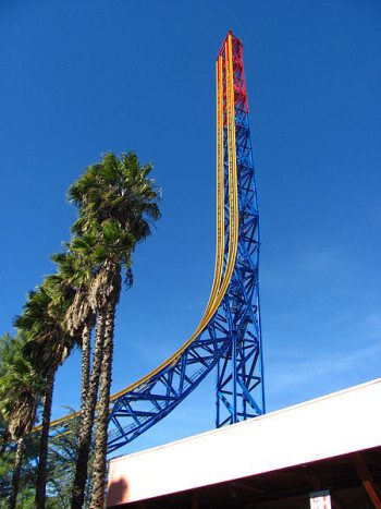 Superman: Escape from Krypton, Six Flags Magic Mountain, USA (160km/h)
