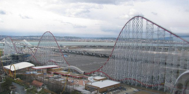 Steel Dragon 2000, Nagashima Spa Land, Japan (153km/h)