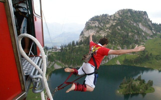 Top 10 Highest Bungee Jumps In The World