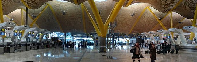 Madrid-Barajas Airport (Madrid, Spain)