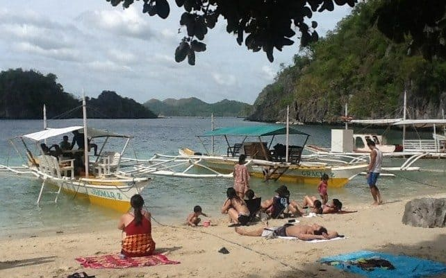 Beach on Coron Island