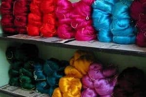 The Fascination With Indian Silk