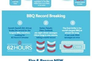For The Love Of Bbq [infographic]