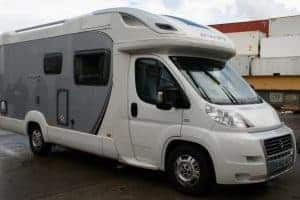 Motorhome enroute to New Zealand